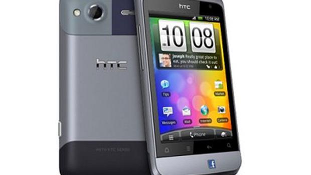 HTC's Salsa phone is the first mobile to feature a branded Facebook button
