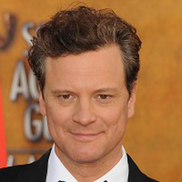 Colin Firth is up for a Best Actor Oscar