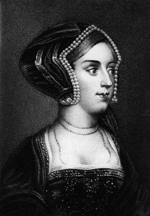 Circa 1533, Anne Boleyn (1507 - 1536), Queen of England from 1533 -1536, wife of Henry VIII, who beheaded her for treason. (Photo by Hulton Archive/Getty Images)