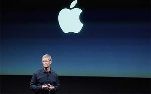 Tim Cook, Apple's chief executive, introduces the iPhone 4S last year. Photo: Getty Images