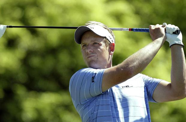 Luke Donald began his US Masters quest yesterday