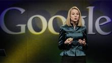 Marrisa Mayer during her time with Google