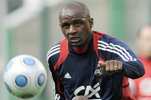 Patrick Vieira: Shocked by race quota claims. Photo: Getty Images