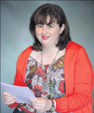 Mary Shine from Cullen who achieved eight distinctions in her FETAC Level 5 exams