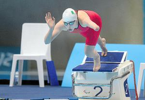 Ellen Keane is competing in the individual medley today
