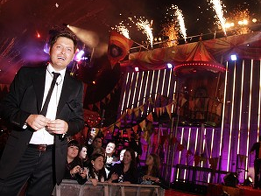 Brian Dowling leaves as the winner of Ultimate Big Brother