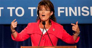 Sarah Palin, who was John McCain's running mate in the last US presidential election, could be preparing for a shot at the top job. Photo: Reuters