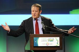 Former US vice-president Al Gore says search engine Google, like the internet, is in its early days. Photo: Getty Images