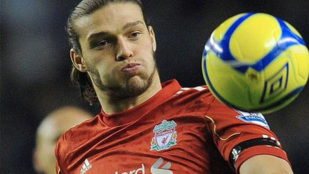 Struggling: Andy Carroll has only scored four times for Liverpool since his move. Photo: Getty Images