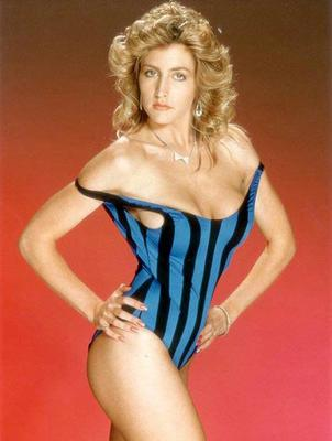 Heather Mills in her early modelling days