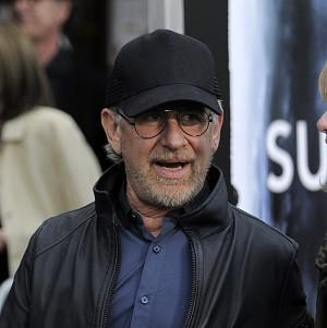 Steven Spielberg has praised the young cast of Super 8