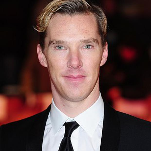 Benedict Cumberbatch is looking forward to seeing the completed Hobbit film