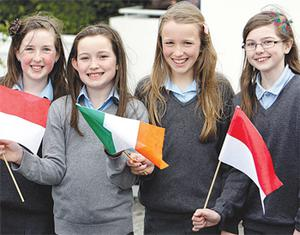 Anna Cassidy, Katie Walsh, Eilis Ni Cheallaigh and Megan Brady
