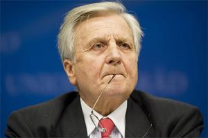 ECB President Jean-Claude Trichet had hinted earlier that the rate would remain the same. Photo: Bloomberg News