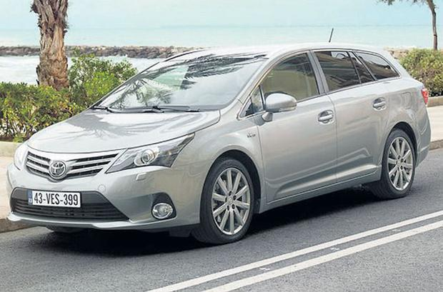 RELAXED DRIVE: The Toyota Avensis estate has been given a comprehensive upgrade and is now a very refined car