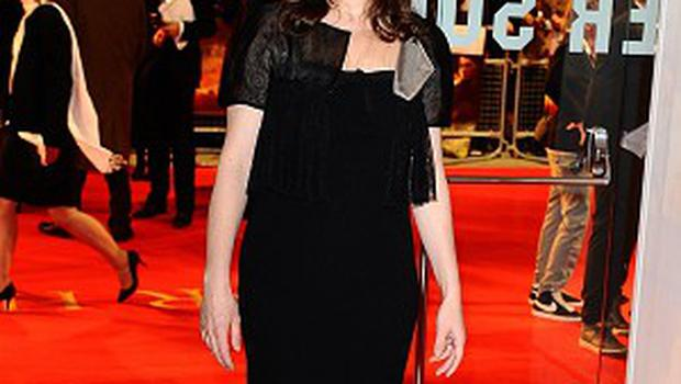 Emily Watson arriving for the UK premiere of War Horse, at the Odeon Leicester Square, London