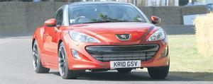 Daring drive: The Peugeot is innovative, but not without its faults