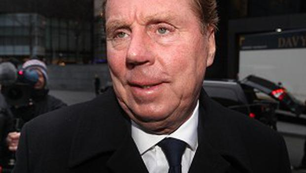 Tottenham Hotspur manager Harry Redknapp arrives at Southwark Crown Court where he will face trial for tax evasion
