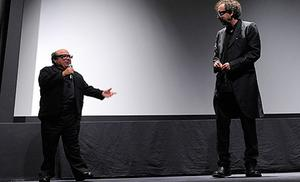 Danny Devito (left) measures in at 5ft. Photo: Getty Images