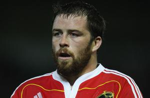 Marcus Horan could make his first appearance for Munster since October in this weekend's Heineken Cup clash with Northampton Photo: Getty Images