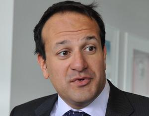 Leo Varadkar, T.D.,minister for transport, tourism and Sport pictured before attending the Irish tourism industry federation agm at the Gibson Hotel, Dublin. Picture credit; Damien Eagers 19/4/12