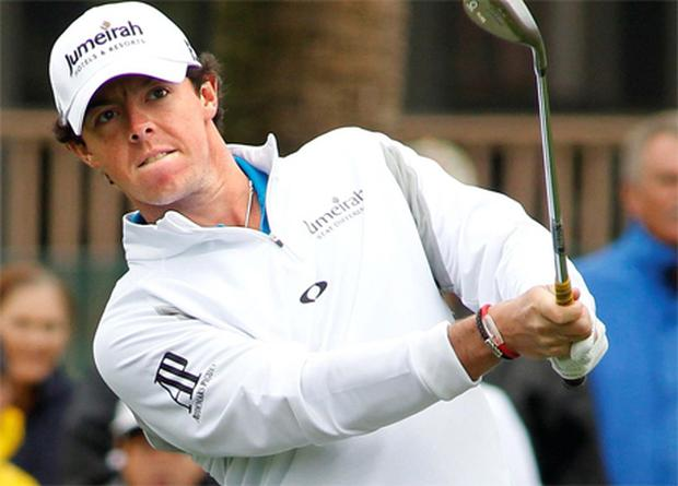 Ireland's Rory McIlroy became the world's No. 1 golfer last night
