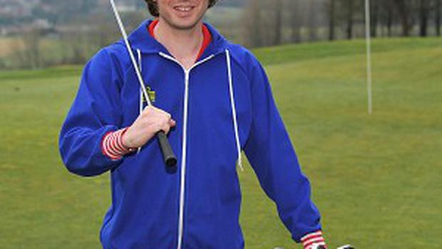 Dylan Harris who has arranged the world's first amateur golf competition in North Korea