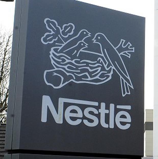 Nestle led STOXX gainers, up 4.3pc.