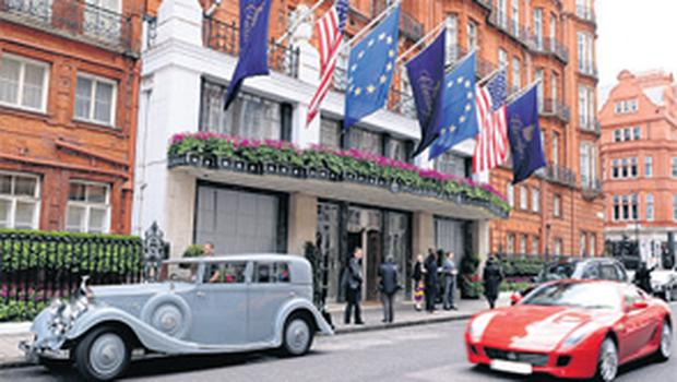 ...and Claridges Hotel in London
