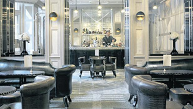 ...the Connaught hotel, also in London