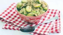 SPICED COUSCOUS BRUSSELS SPROUTS
