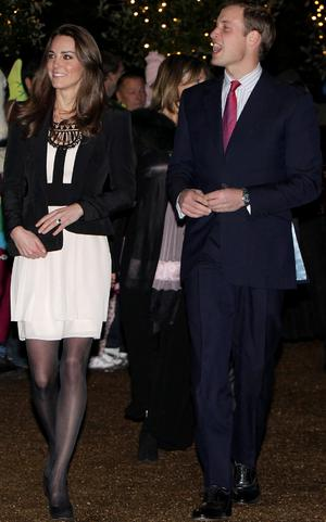 Kate recently wore an Issa London dress, which was more than four years old. Photo: Getty Images
