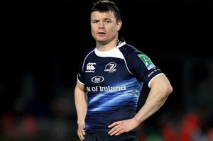 Brian O'Driscoll's contract is due to expire following this year's World Cup. Photo: Getty Images