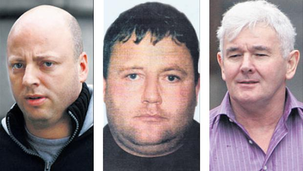 CAB will focus on the wealth amassed by notorious late criminals Eamonn Dunne (left), Martin 'Marlo' Hyland (centre) and John Gilligan, who is alive but still in prison
