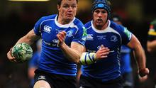 Brian O'Driscoll leads the charge, supported by Sean O'Brien, during the opening exchanges of Saturday's Heineken Cup in final in Cardiff. Photo: Getty Images