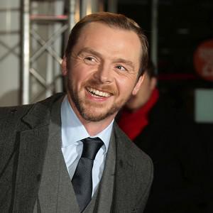 Simon Pegg plays a tech expert in the new film
