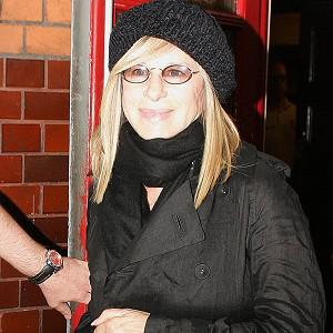 Barbra Streisand performed with Josh Groban at the event