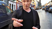 Aiden Gillen pictured in Dingle, County Kerry on Friday