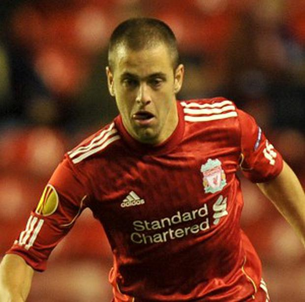 Joe Cole during his Liverpool days