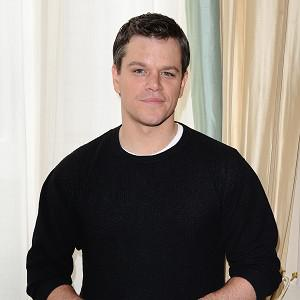 Matt Damon is said to be a fan of playing cards