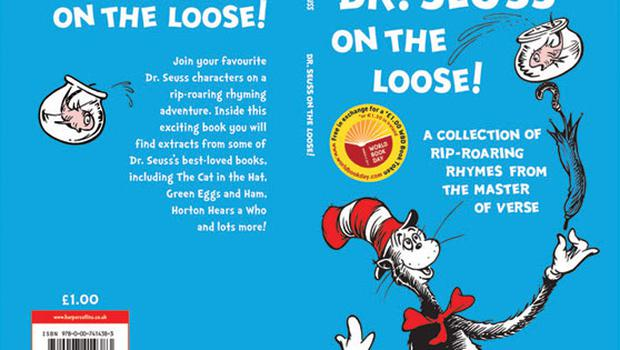 <p><b>Pre-school  picture book: Dr Seuss on the Loose! (HarperCollins) </b></p> <p>This World Book Day book is filled with rhymes and extracts from some of Dr Seuss's best-loved books, including The Cat in the Hat, Green Eggs and Ham and Oh, The Places You'll Go. </p>