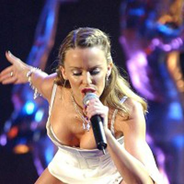 Kylie Minogue is nominated for a special Brit Award