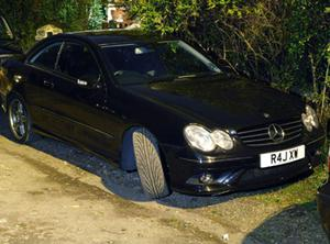 The black Mercedes CLK coupe owned by Harjinder Singh Bhurji. Photo: PA
