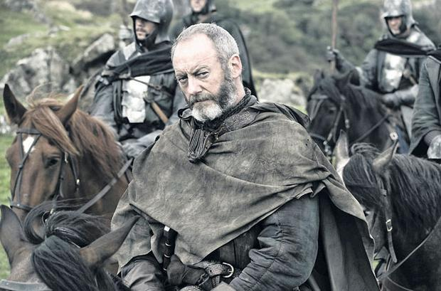 Horses for courses: Actor Liam Cunningham in the second season of Game of Thrones on Sky Atlantic