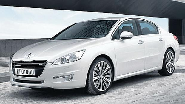 LOADS OF BITE: The Peugeot 508, to be launched in April