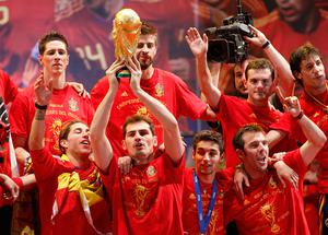 World and European champions Spain: favourites again. Photo: Getty Images