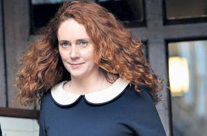 Former News International chief Rebekah Brooks leaving the High Court in London after giving evidence to the Leveson Inquiry
