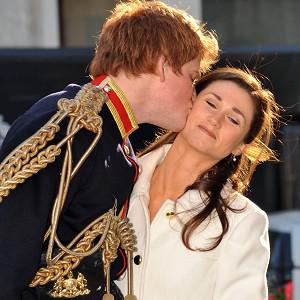 Prince Harry and Pippa Middleton lookalikes Roddy Walker and Hannah Williams in a spoof tour to promote photographer Alison Jackson