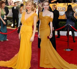 From left Michelle Williams and Diane Kruger. Photo: Getty Images