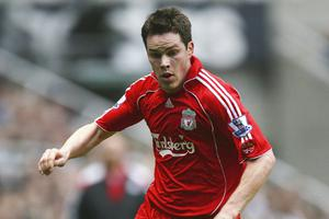 Steve Finnan during his Liverpool days